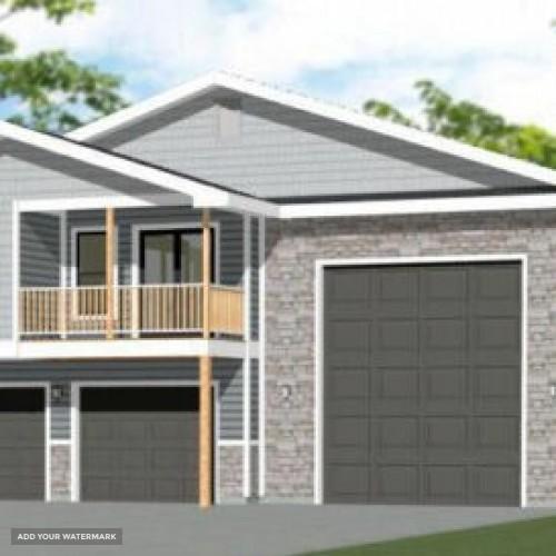 44x48 Apartment with 2-Car 1-RV Garage - PDF FloorPlan - 1,645 sqft - Model 1H