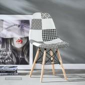 Moda Patchwork Eiffel Chair